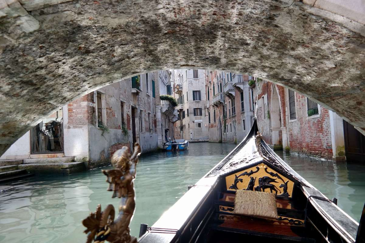 Venice: View from a Gondola