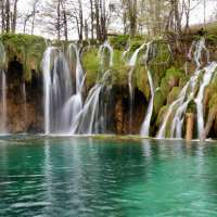 Plitvice Lakes: Spring Snow Showers